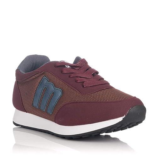Sneakers Mustang 84100 Burdeos De Hombre: Amazon.es: Zapatos y complementos