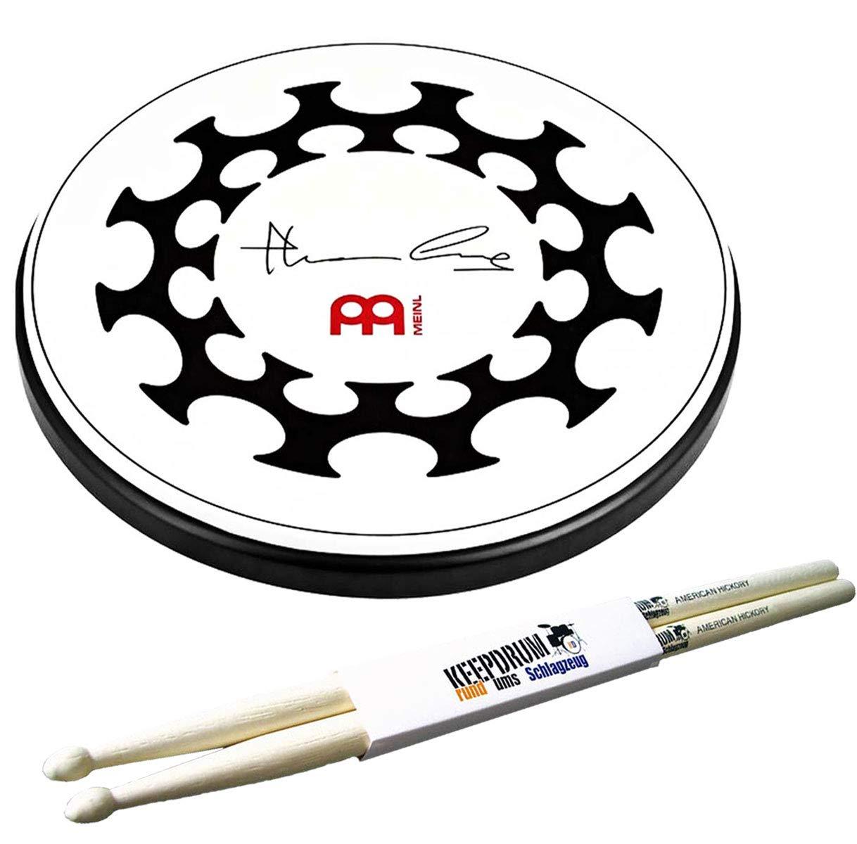 """Pearl PDR-08P Practice Drum-Pad Übungspad 8/"""" keepdrum DPS Übungspadständer"""