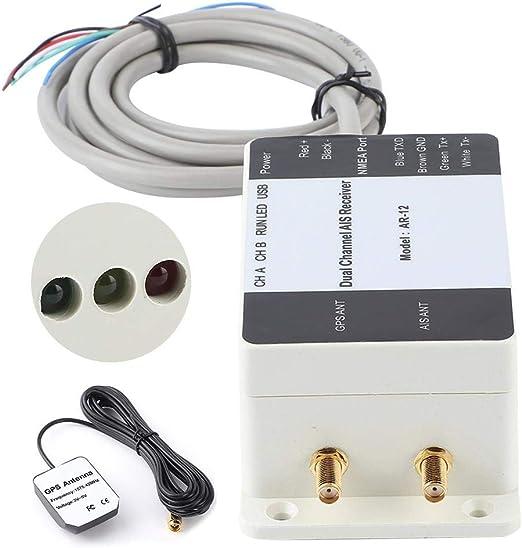 Receptor AIS Marine, Receptor AIS de doble canal GPS USB Yate ...