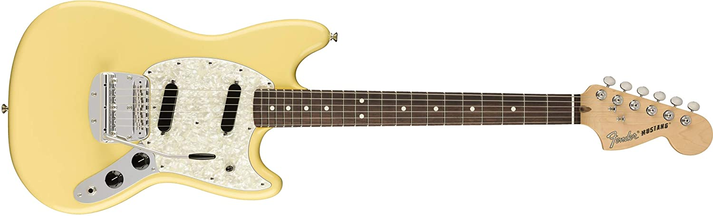 American Performer Mustang RW Vintage bianca