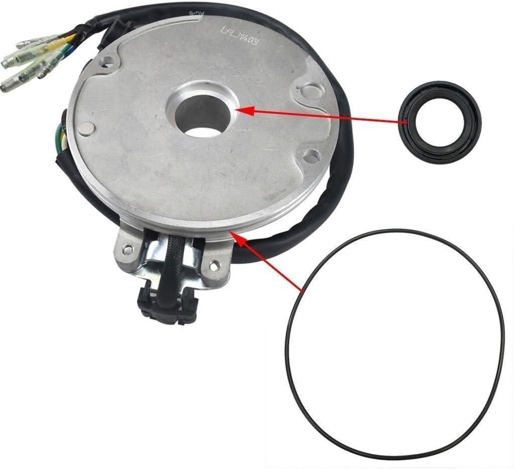 WPHMOTO Magneto Stator Ignition Generator 6 Poles Coils for Lifan 140cc ATV Pit Dirt Motor Bike Motocross