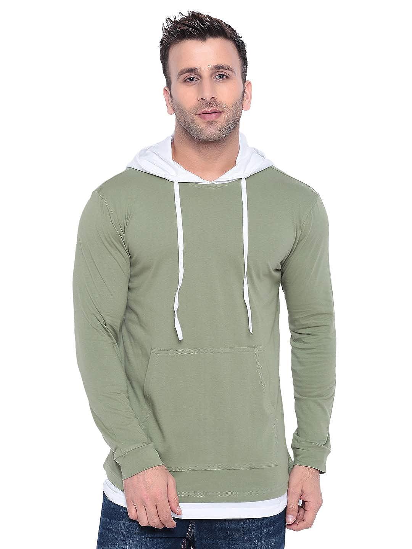 GRITSTONESMensPlainRegularFitT-Shirt