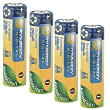 Sony Cyber-shot DSC-H300 Digital Camera Battery Replacement for 4 AA NiMH 2800mAh Rechargeable Batteries