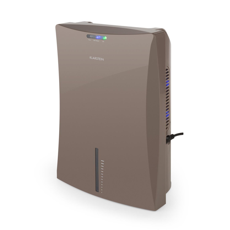 Klarstein Drybest 2000 2G Deshumidificador • Purificador • Deshumidificador eléctrico • 0,7L/24h • bajo Consumo 70 W • silencioso • Depósito de 2 L ...