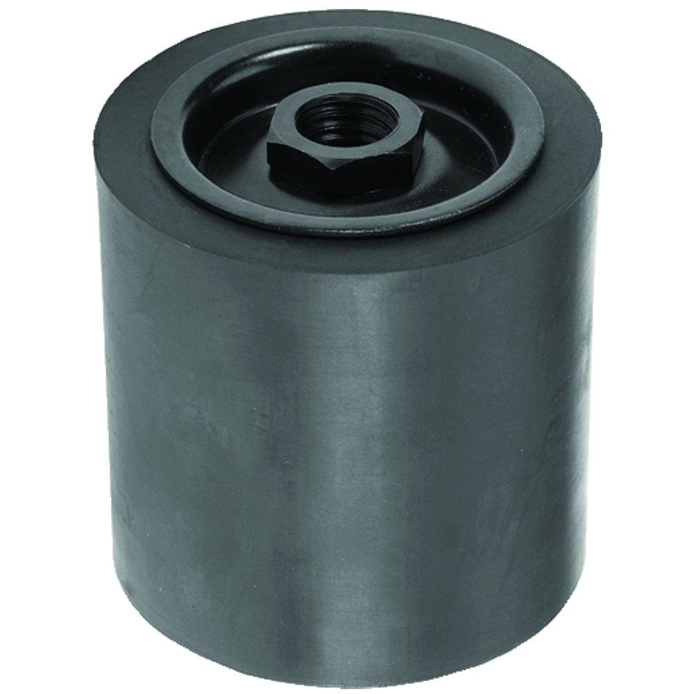 Climax Metals SD-048048-58FD Threaded Shaft Rubber Expansion Sanding Drum with 5/8-11 RH Threaded Shank, 3' x 3' 3 x 3 Climax Metal Products Company