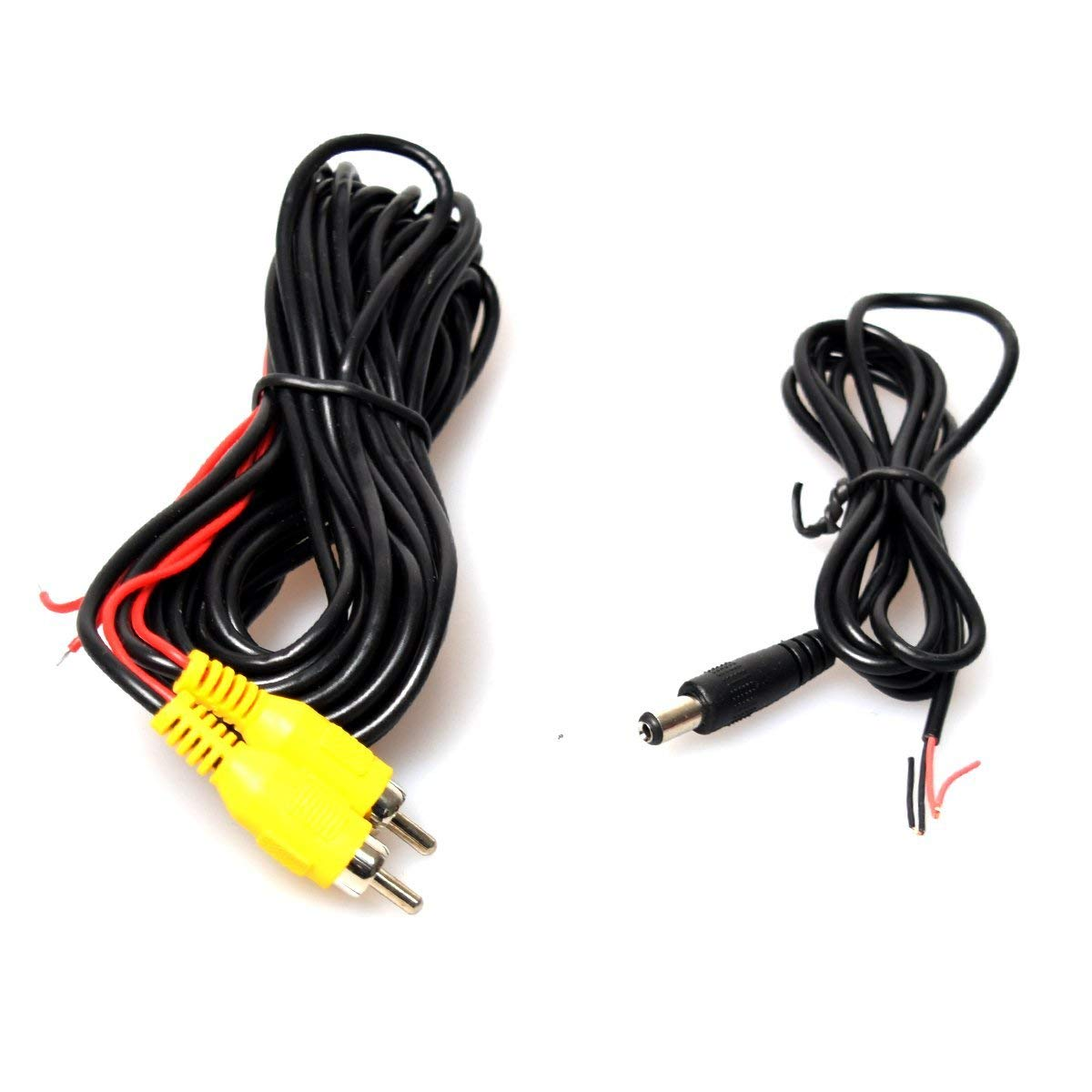 20FT RCA Video Extension Cable Automatic IR//LED Night Vision EKYLIN L662 Car Auto Automotive Rear View Backup Camera Free 6M