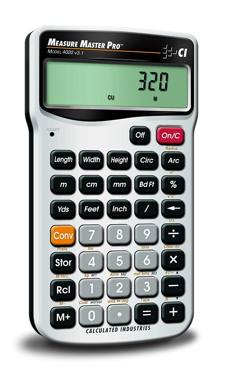 Amazon.com: Calculated Industries 4020 Measure Master Pro Measurement  Conversion Calculator (2-(Pack)): Kitchen & Dining