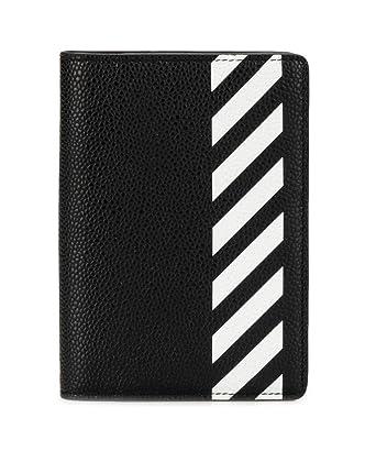 a8293218caf9 オフホワイト ウォレット ◇ OFF WHITE DIAG PASSPORT WALLET ブラック OMNC010R19C440321001 メンズ  財布 パスポート カードケース