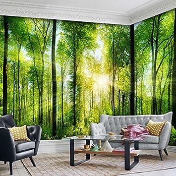Wongxl Wald Scenic Garden Wandbild Wandbilder Große ...