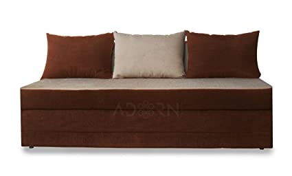 Adorn India New Easy cumbed(Brown & Beige)