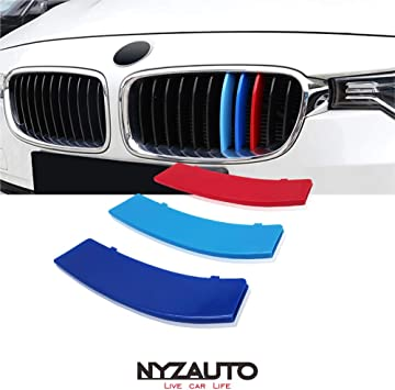 lanyun M Colors Grille Insert Trims Decorate for 2016-2018 BMW G11 G12 7 Series 9-Beam Standard Grill red Blue Light Blue