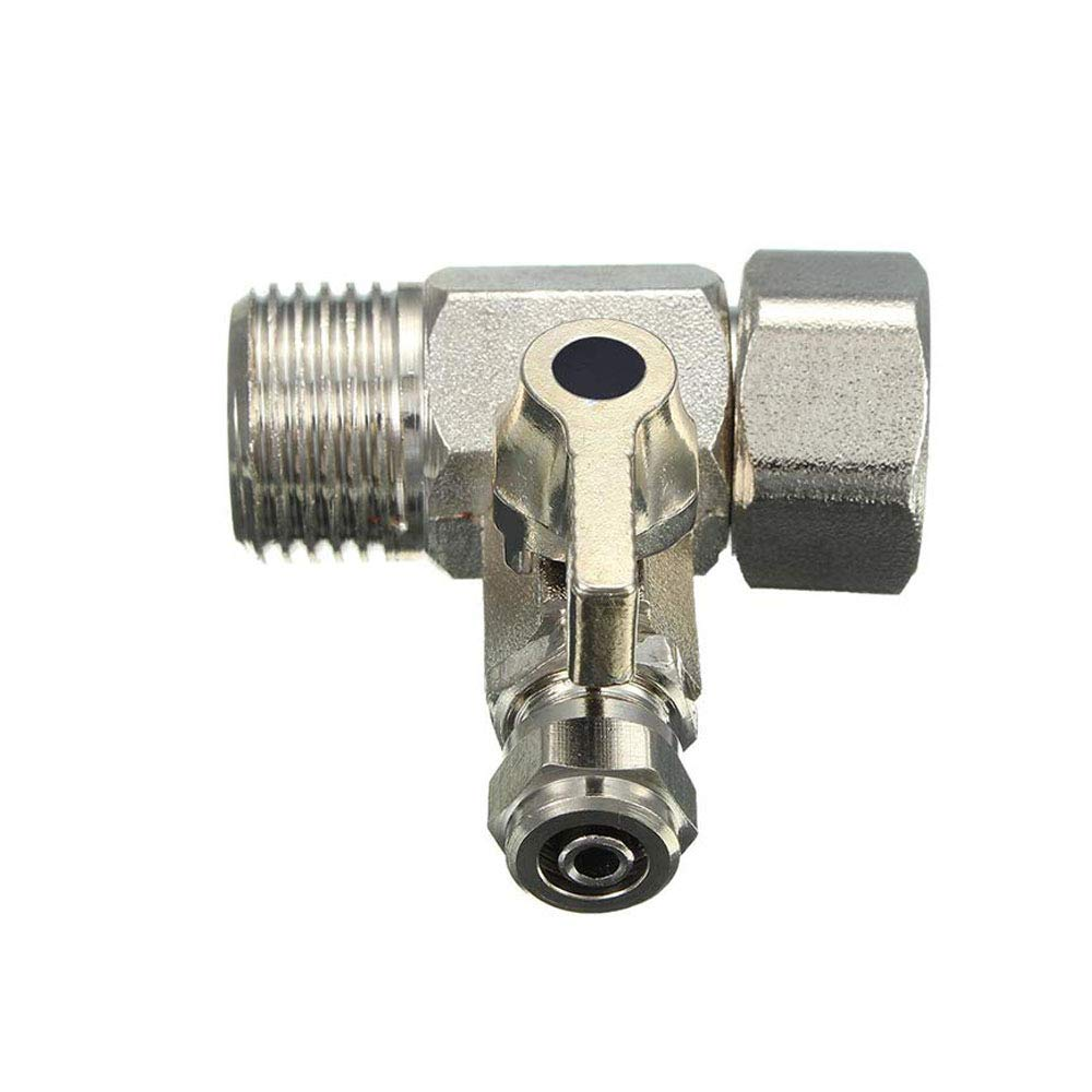 Feed Filter Water Adapter Ball Valve Tap Reverse Osmosis Switch Alloy DurablR/_yk