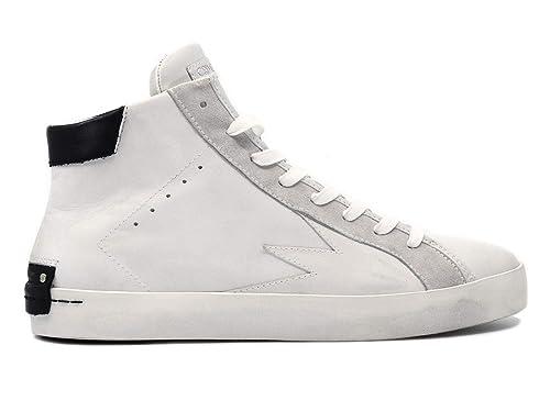 5afdb1a7ba Crime London 11076 Hope Sneaker Uomo in Pelle Bianca