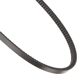 "Continental ContiTech Fractional Horsepower V-Belt, 4L450, Cogged, 0.50"" Width, 0.31"" Height, 45"" Nominal Outside Length"