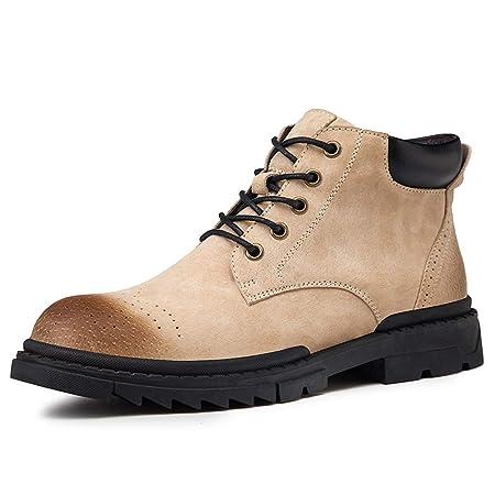 Zhulongjin Botines de Invierno for Hombres for Hombres Botas de ...