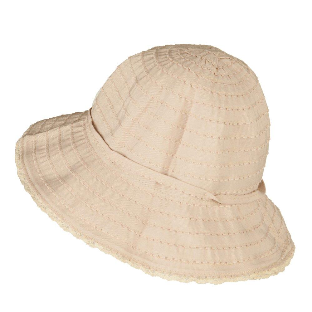 Jeanne Simmons Girls Crushable Fringed Bucket Hat