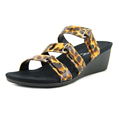 Vionic Orthaheel Technology Women's Dwyn Slide Wedge Sandal (7 B(M) US,
