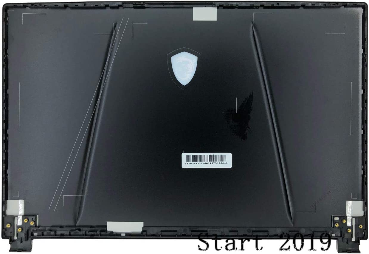 New Compatible Replacemen for MSI GP65 LCD Back Cover Top Case Rear Lid 30761A211HG
