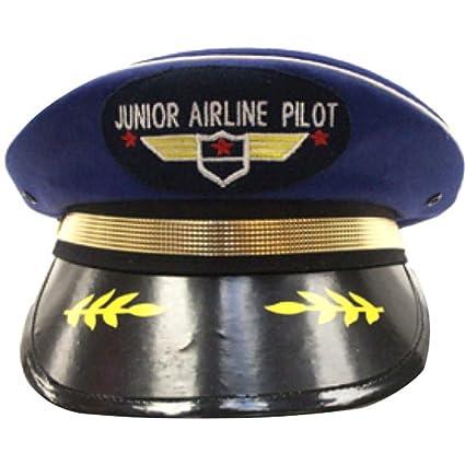 eacf1e3e Amazon.com: Junior Airline Pilot Child Cap: Toys & Games