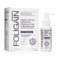 Foligain Spray Ricrescita Donna | Trioxidil 10% | Combatte la Calvizie e Rinforza il Cuoio Capelluto | Spray Topico | Confezione Da 59ml