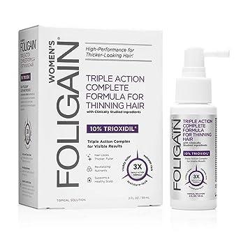 Foligain - Solución de Trioxidil® para mujer anti caída del cabello: Amazon.es: Belleza