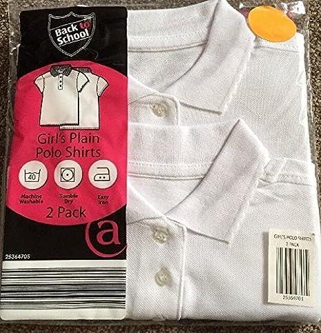 Diseño de ropa de descanso para niñas 2 unidades blanco de manga ...