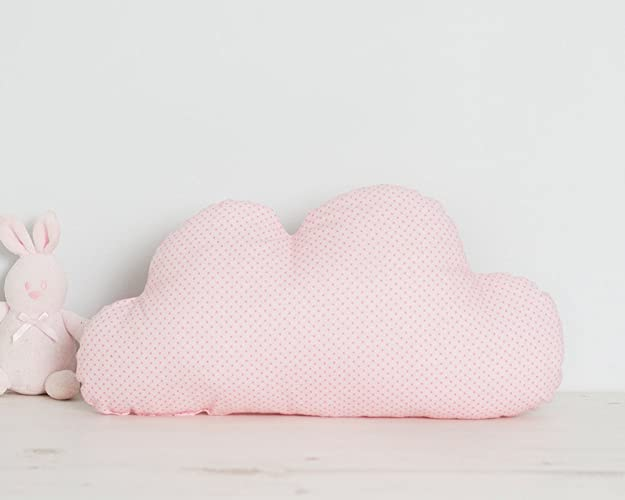 pink cloud pillow with polka dots new 2017 baby gifts girl for baby
