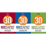 MTG Combo of 30 Years NEET-AIPMT Chapterwise Solutions - Physics, Chemistry & Biology (3 BK Sets)