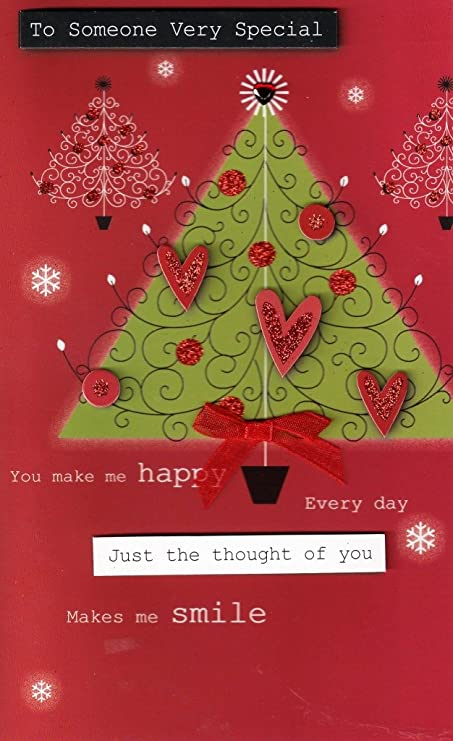 Second nature to someone very special luxury 3d happy christmas card second nature to someone very special luxury 3d happy christmas card tree xmas greeting cards m4hsunfo