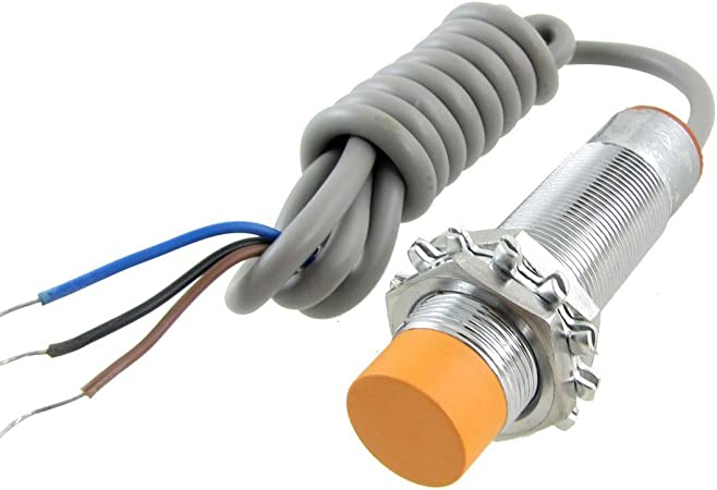 Baomain Proximity Sensor Switch PR08-2DN 3-Wires Inductive DC 10-30V