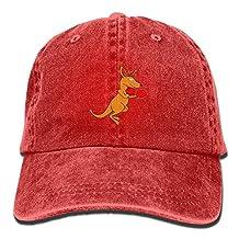 Alin-Z Boxing Kangaroo Adjustable Adult Cowboy Hat Baseball Cap For Men and Women