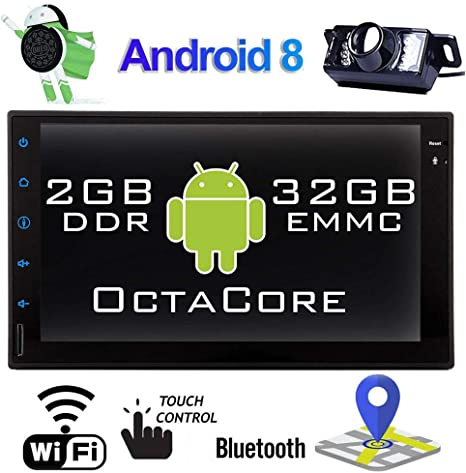 "10.1/"" Android 8.1 2Din Car Stereo Radio GPS Wifi 4G OBD2 Mirror Link Player CAM"