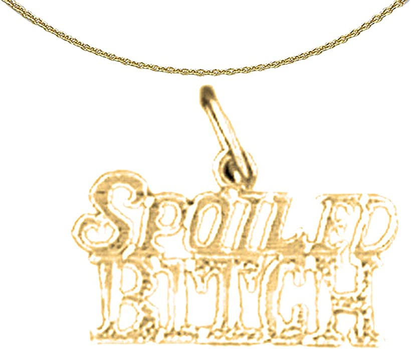 Rhodium-plated 925 Silver I Am A Child Of God Saying Pendant with 18 Necklace Jewels Obsession Silver Saying Necklace