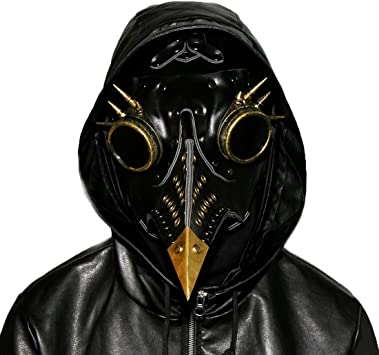 Máscara de Doctor Plaga Steampunk LIBILAA