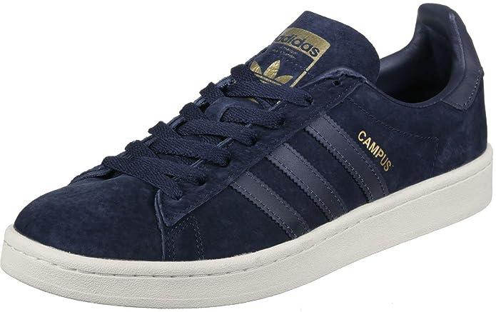 Adidas Campus Schuhe Herren Blau (Maruni) mit blauen Streifen