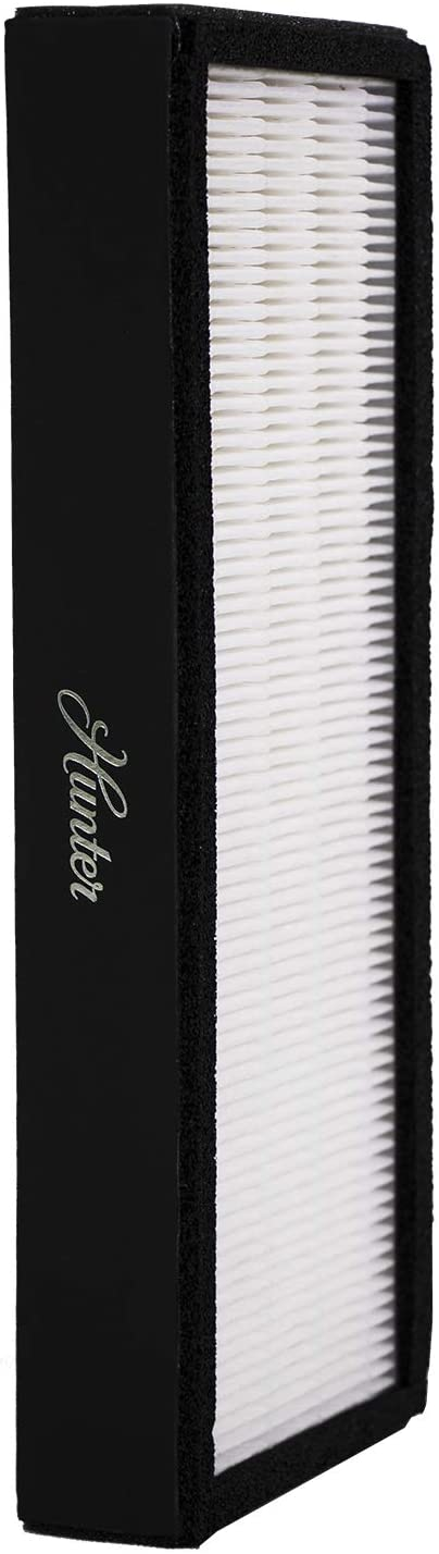 Hunter Fan Company Hunter F1702HE True HEPA Replacement Air Purifier Filter for Models HT1702, 10200, White