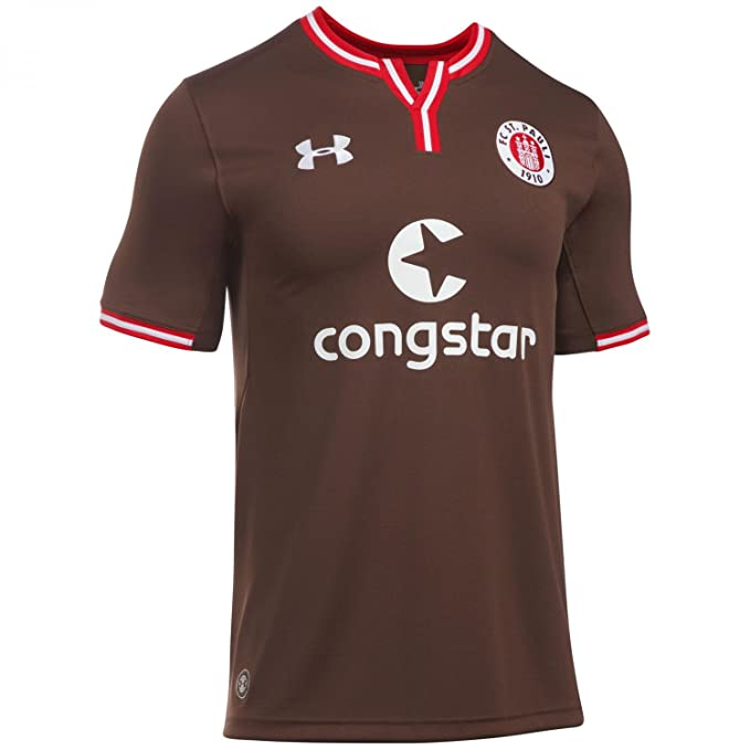 a4f23d59 Under Armour FC St. Pauli Camiseta Home 2016/2017 Hombre: Amazon.es: Ropa y  accesorios