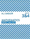 Cover of Mathematics Specialist Units 3 & 4