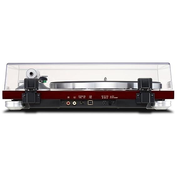 Amazon.com: TEAC tn-300-r Rojo Analógica, 2 velocidades ...