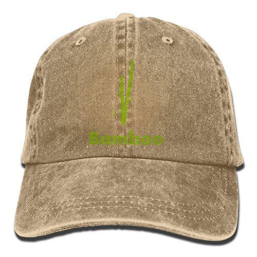 Green Bamboo Adjustable Adult Cowboy Cotton Denim Hat Sunscreen Fishing Outdoors Retro Visor Cap]()