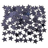 Confeti de Conversión de Estrellas Creativo, Negro