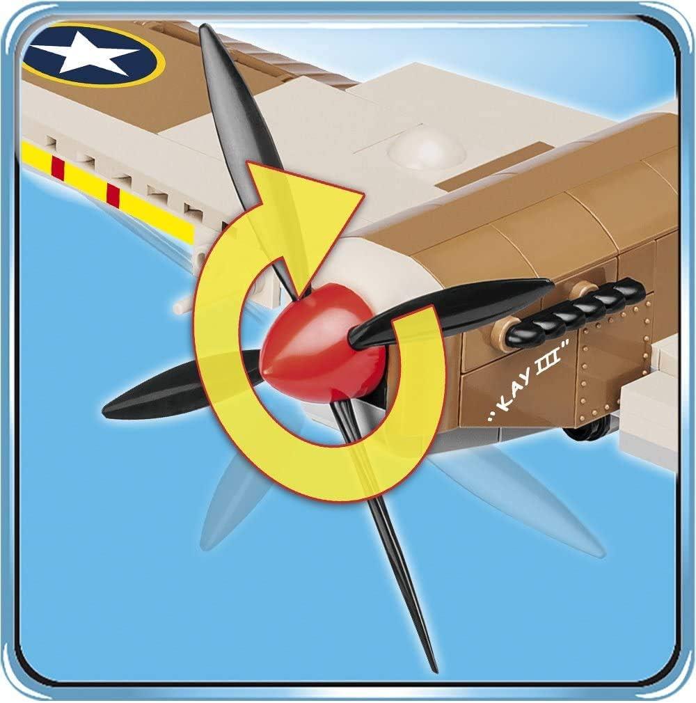 COBI Historical Collection Supermarine Spitfire Maintenance Hangar