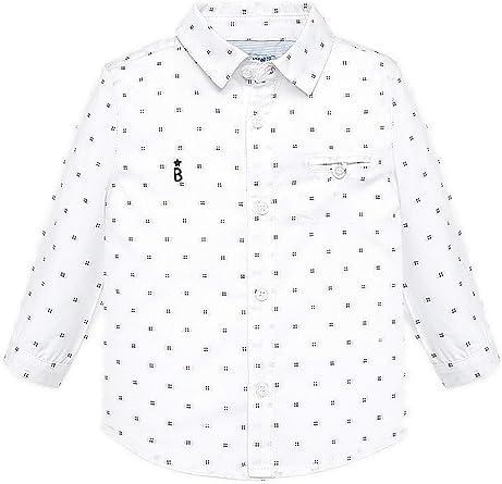 Mayoral, Camisa para bebé niño - 2114, Blanco: Amazon.es: Ropa y accesorios