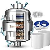 Filtro de Ducha Agua Universal de 15 Etapas - Incluye 2 Cartuchos de Filtro Reemplazable- Purificador de Agua para…