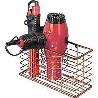 mDesign Soporte para secador de Pelo – Organizador