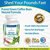 Green Coffee Bean Extract with GCA® – 50% Chlorogenic Acid – 100% All-Natural – Premium Quality – Weight Loss Benefits and More – No Artificial Additives – 30 Day Supply at 1600mg/Day- Satisfaction Guaranteed – NEW Released, Health Care Stuffs