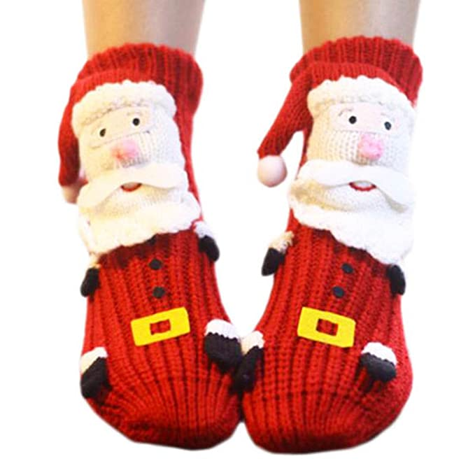 Black Temptation Un par de calcetines antideslizantes para dormir Slipper Socks Cute calcetines para piso-