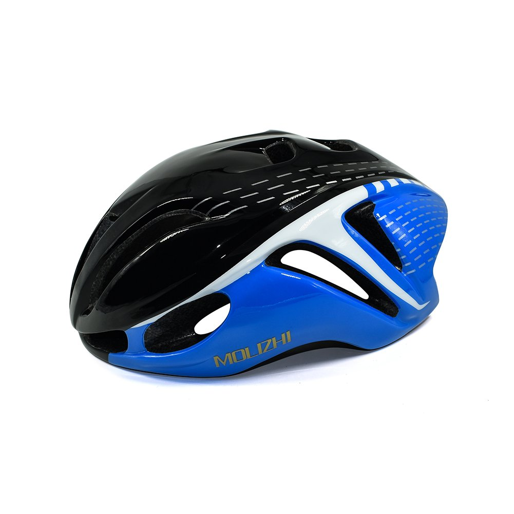 Molizhi Bike Helmet Only 0.52Ib Super Light Low Air Resistance Cycling Helmet for Teens and Student Road Bike Mountain Bicycle, Size Adjustable Size Adjustable (black)