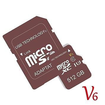 512 GB - V6 - Micro SD - Tarjeta de Memoria: Amazon.es ...