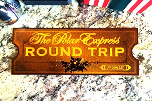 Polar Express ROUND TRIP train ticket by LilyDeal